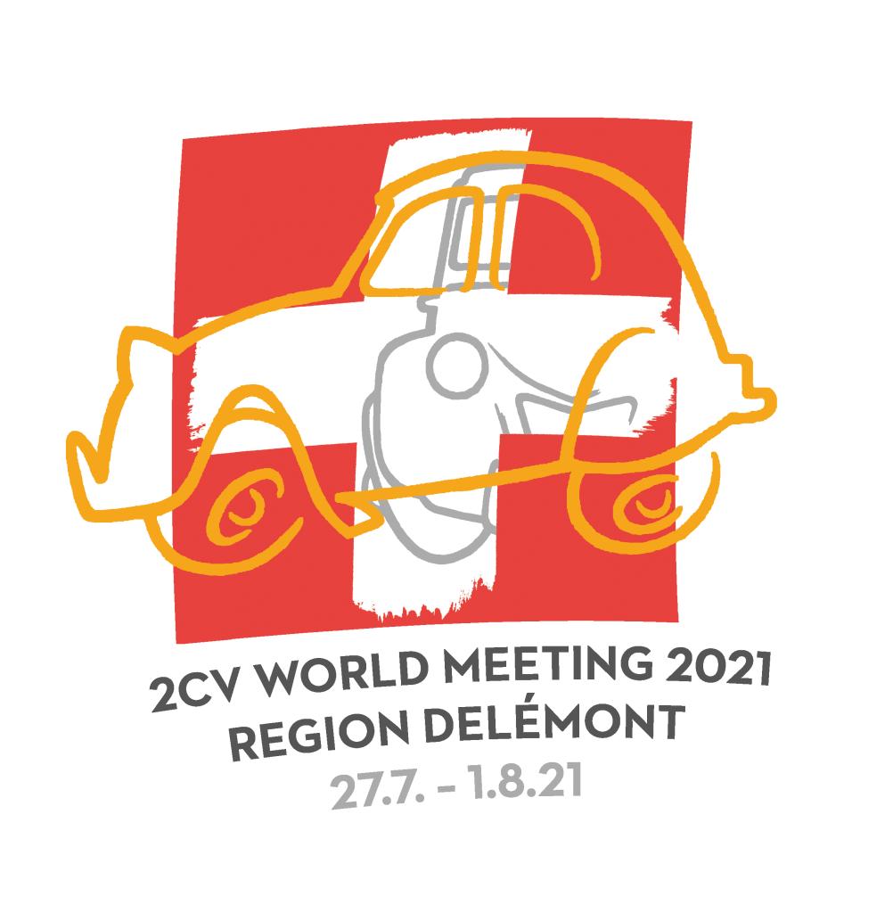 24th World Meeting of 2CV Friends 2021 Switzerland